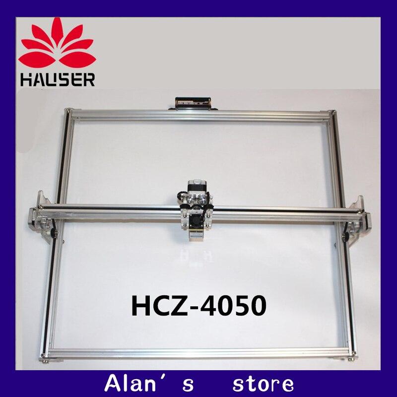 cnc laser 40*50mm large area listed 5500 mW laser engraving machine DIY Mini 5.5W laser marking machine, printing machine