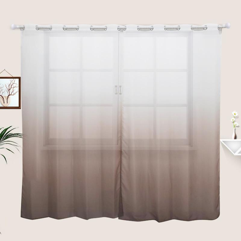 Mavrične nordijske zavese za dnevno sobo Spalnica 3D natisnjena - Domači tekstil