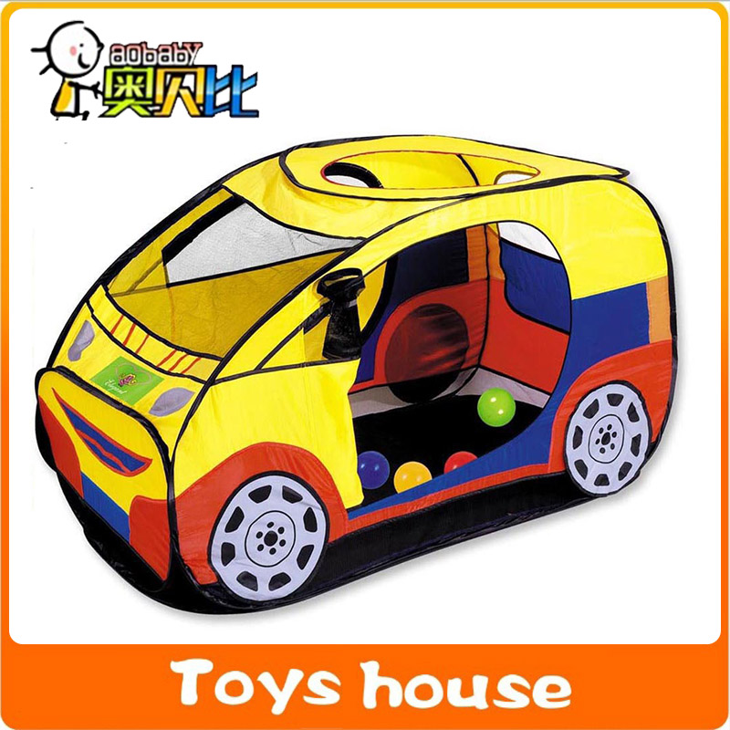 childrens large games playhouse car tent house baby toys cartoon outdoor toy tents baby toy tente