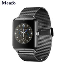 Heißer verkauf! Smart Watch Z50 Bluetooth Smartwatch 2G GSM g-sensor 0.3mp Kamera Unterstützung SMS Android IOS Smartphone Uhr für S7