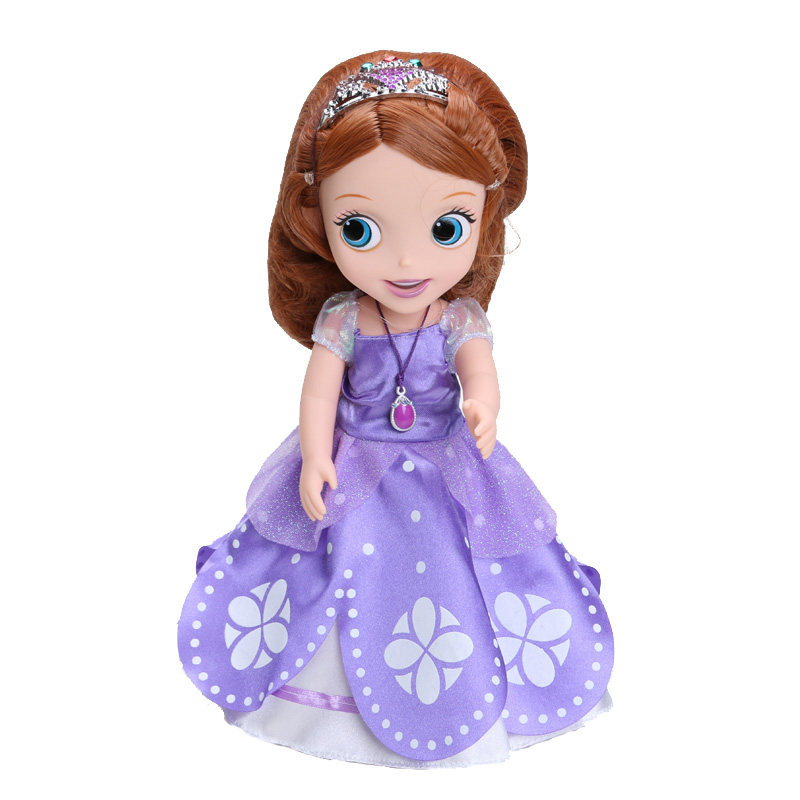 30cm sofia princess doll toy sophia princess sofia doll girls puppe boneca poupee bambola bebe. Black Bedroom Furniture Sets. Home Design Ideas