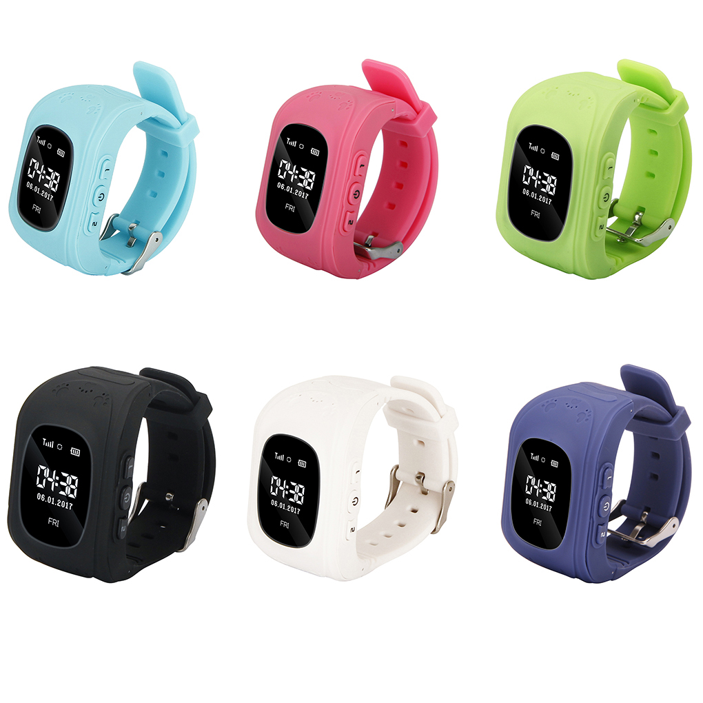 <font><b>Kids</b></font> Gift <font><b>Q50</b></font> Children <font><b>Smartwatch</b></font> <font><b>Kids</b></font> Wrist Watch Anti-lost GPS Tracker Call Location Finder Remote Pedometer Parent Control image