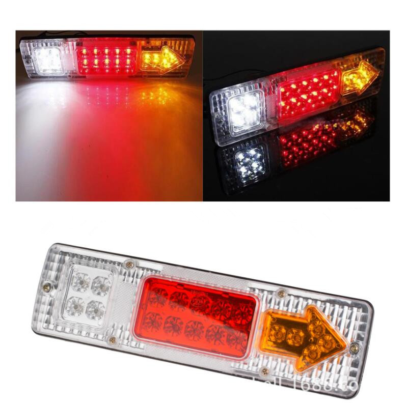 2PC 48 Amber Tow truck Emergency light bar strobe LED free shipping