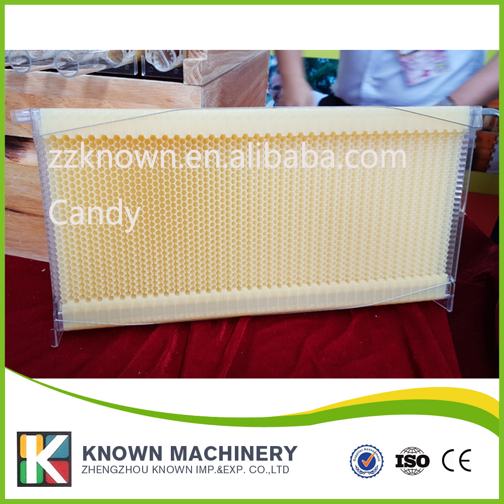4pcs auto flow honey bee hive flow frames 5 beekeeping bee hive frames honey container honey lattice produce box 250g