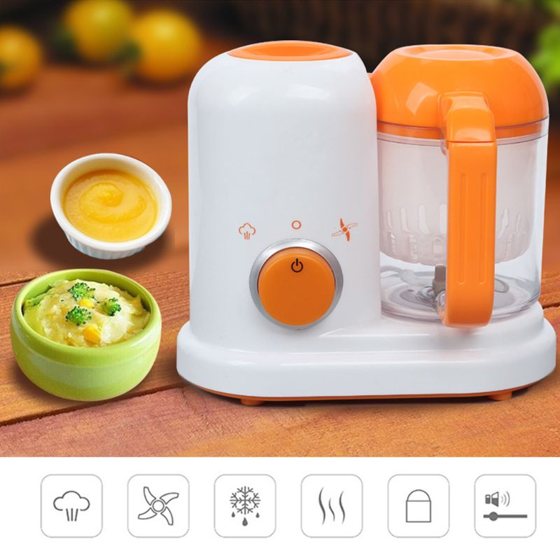All in One Baby Food Processor Complementary Food Machine Steam Vapor Stir Cook Blender DIY Electric Heating Healthy Maker ChildAll in One Baby Food Processor Complementary Food Machine Steam Vapor Stir Cook Blender DIY Electric Heating Healthy Maker Child