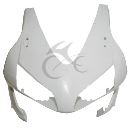 Unpainted Front Upper Fairing Cowl Nose For Honda CBR600RR CBR 600RR 03 04 abs injection front upper fairing front cowl nose for honda cbr 600 rr 600rr 2007 2008 unpainted