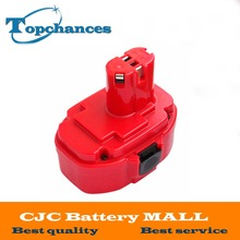 Free Shipping High Quality 18V 3000mAh Ni MH Rechargeable Power Tools Battery For Makita PA18 1822