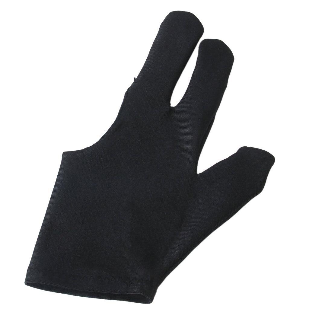 Wholesale! Professional Billiards Left Hand Three Fingers open Fingertip Glove