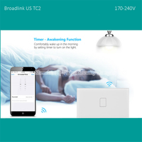 2016 US AU Type Broadlink TC2 1Gang Wifi Wall Light Touch Switch White RF433MHZ IOS Android