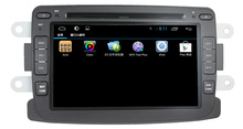 For Renault Duster Logan Sandero car dvd player GPS with android 4-core cortex A9+3G+Wifi+Radio+BT+Ipod list +USB+SWC+ATV+DVD