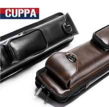 Cuppa New Arrival 6 Holes Pool Cues Case Black Brown Color Professional High Quality Cases Billiard Accessories China 2019