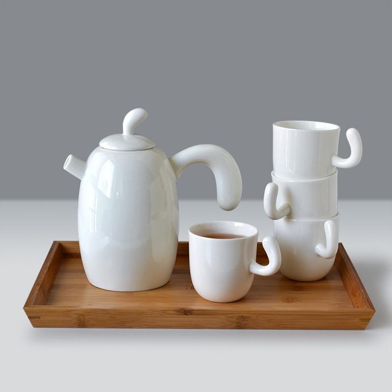 Buy unique ceramics tea pot and cup set for Cool tea cup designs