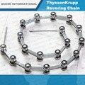 22 суставов/комплект Реверсивный Роликовая Цепь Для ThyssenKrupp Эскалатор части Бесплатная доставка