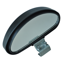 AUTO Amico Black Plastic Casing Car Side Blindspot Blind Spot Mirror Wide Angle View