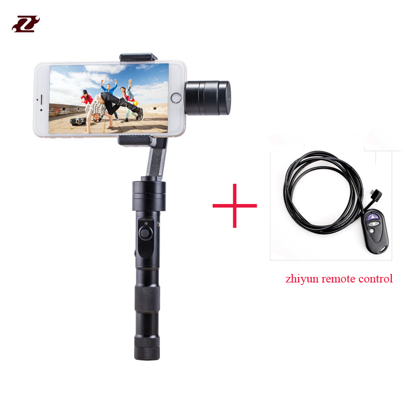 Zhiyun New Z1 Smooth C plus 3 Axis brushless smartphone gimbal handheld hottest warranty + Gift PK zhiyun z1 smooth c
