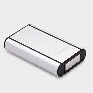 Image 4 - 高品質 1 個アルミ合金噴出ホルダーポータブル自動シガレットケース防風金属ボックス煙箱
