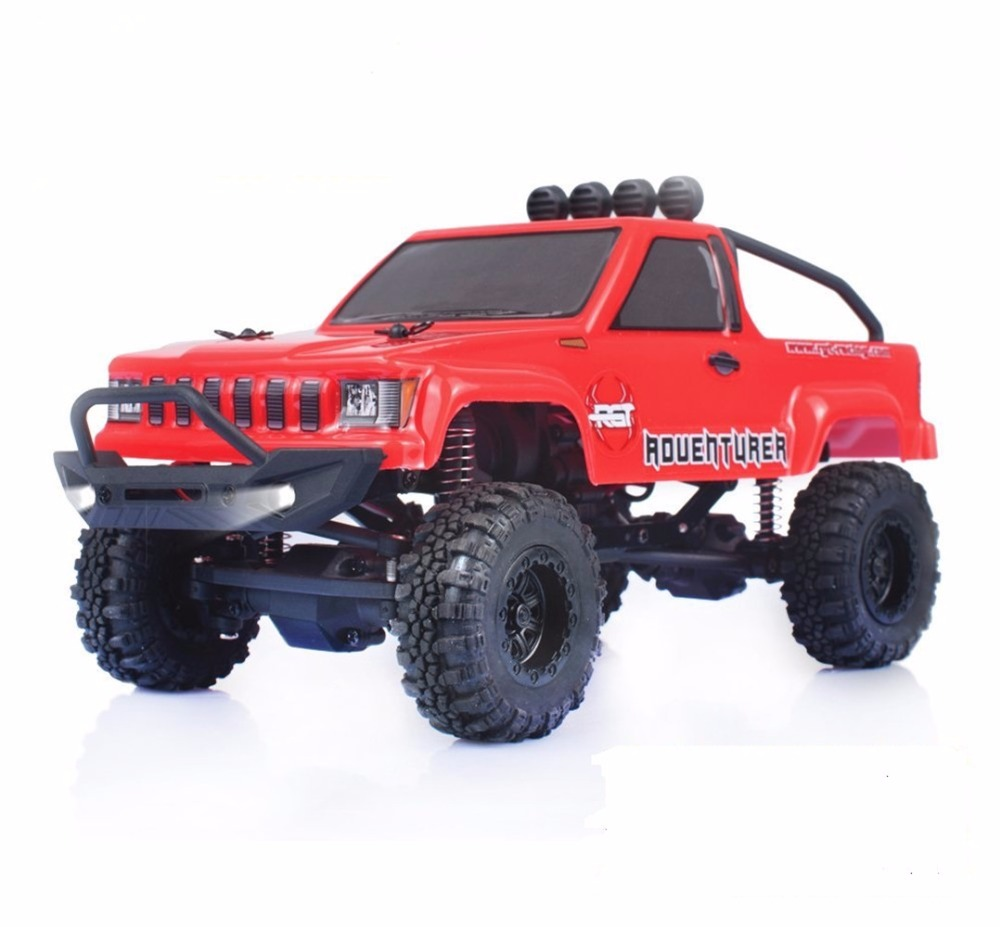 RGT Rc Car 1:24 Scale 4wd Rc Crawlers Off Road 4x4 Lipo mini Monster Truck RTR Rock Crawler Remote Control Car Toys for Kids rc car amphibious rock crawler car 4wd 2 4g dual motor waterproof monster truck remote control off road vehicle toys kids hobby