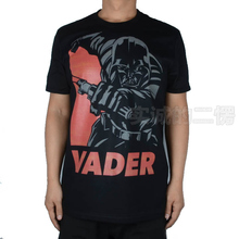 2015 Spring And Summer Contton Men Casual Fashion Short Sleeve T shirt Star Wars Attack Death