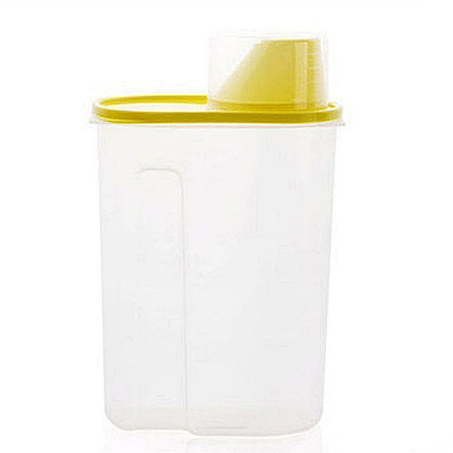 Plastic Dried Food Storage Box Cereal Flour Rice Grain Container Kitchen  Organizer Tools Convient To Store
