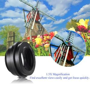 Image 2 - 1.51X Fixed Focus 6 wizjer góra podstawa okularu Eyecup lupa dla Canon Nikon Sony Pentax Olympus Fujifilm itp DSLR Camera