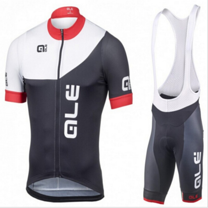 2017 ALE Summer Quick Dry Cycling Jersey Bike Riding Clothing Mountain Bicycle top Bibs shorts set Bicycling Maillot Culotte men ckahsbi winter long sleeve men uv protect cycling jerseys suit mountain bike quick dry breathable riding pants new clothing sets
