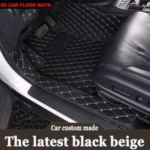 Dopasowane dywaniki samochodowe do Mercedes Benz A B180 C200 E260 CL CLA G GLK300 ML S400 stylowy dywan do samochodu wykładzina podłogowa