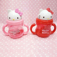 Momy And Angel Baby Bottles Straw Cup With Sling Bottle Sippy Cups Children Drinking Water Straw