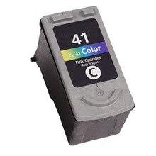 Hisaint 1x Цвет CL-41 CL41 чернильный картридж для принтера Canon Pixma MP210 MP220 MP450 MP160 MP170 MP180 MP190 принтер