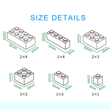 1000pcs Bricks Designer Creative Classic Brick DIY Building Blocks Educational Toys Bulk For Children Gift Compatible Legoe