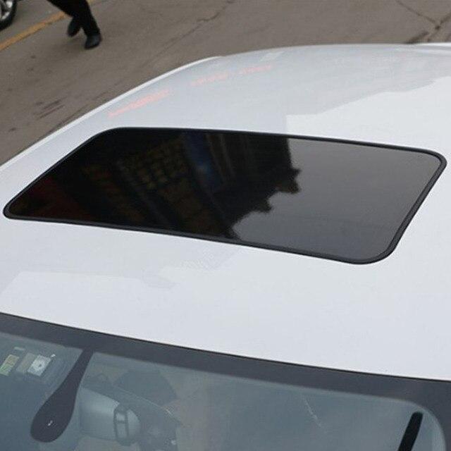 Auto symulacja panoramiczny szyberdach naklejki samochodowe pcv spersonalizowane naklejki wodoodporne akcesoria zewnętrzne naklejki do stylizacji samochodów