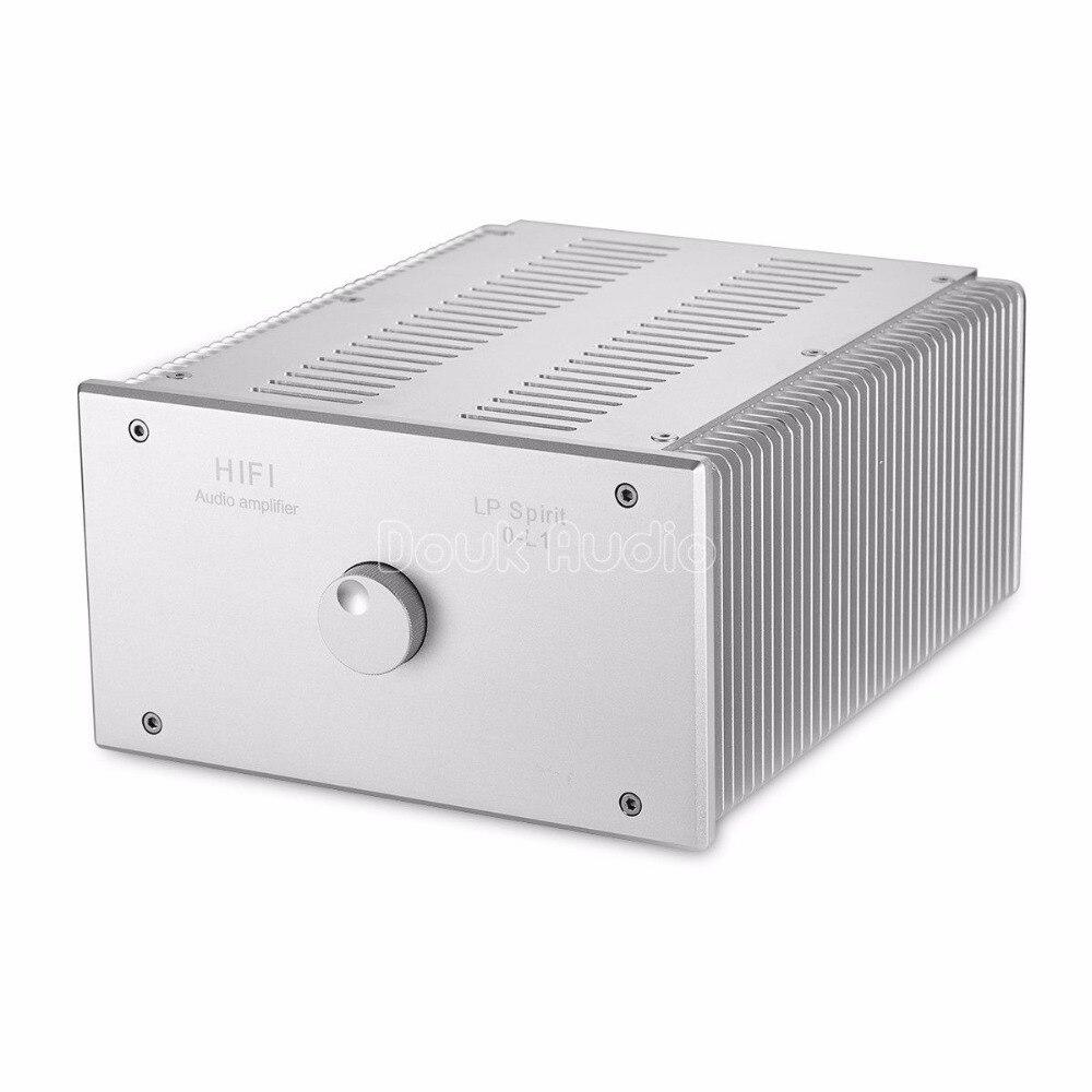 2018 Latest Nobsound Hi-End Power Amplifier Hi-Fi Class A Stereo HiFi Amp Integrated 20W*2 Desktop Amplifier