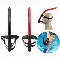 Professionelle Erwachsene Schwimmen Tauchen Schnorcheln Silikon Trockene Luft Atmen Rohr Voll Trockenen Luft Atmen Scuba Rohr
