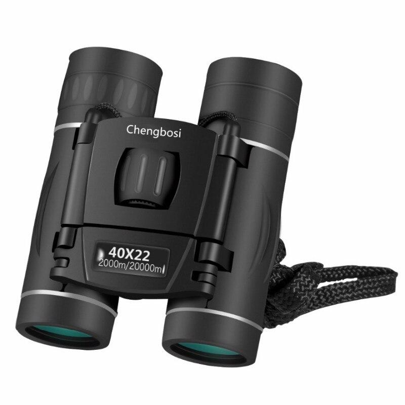 Nuovo Arrivo 40x22 Zoom Binoculare Campo Occhiali Grande Palmare Mini Telescopi Caccia HD Potente Binocolo Hot Per I viaggi