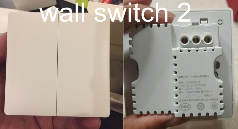WALL SWITCH  2 REAL PHOTO