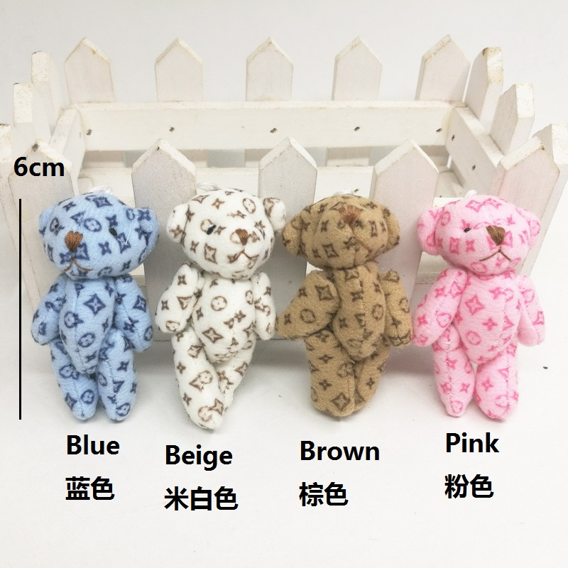 6cm lv bear 5-size