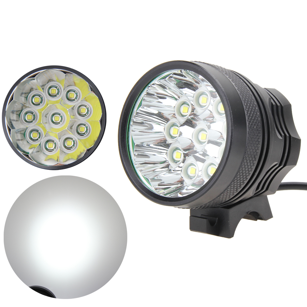 ФОТО Super Outdoor Sports Bicycle Lights Sets 25000Lumen 10xXML T6 LED Front Bicycle Bike Headlight Lamp Torch Charger(EU Plug)