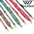 W. D. POLO 2016 Мода Кожаная сумка ремешок модные pre-fall дизайн холст сумки ремень сумки частей вебер мешок легко подбирается M2041