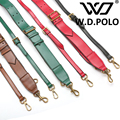 W.D.POLO 2016 Fashion Leather handbag strap trendy pre-fall design canvas bags strap bag parts veber bag easy matching M2041