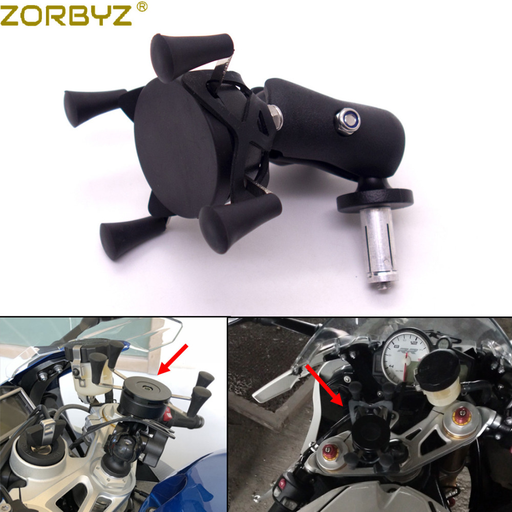 Professional Sale Zorbyz Motorcycle Black Mobile Phone Navigation Bracket Holder For Bmw S1000rr 2010-2017/hp4 2012-2014 Motorcycle Accessories & Parts Covers & Ornamental Mouldings