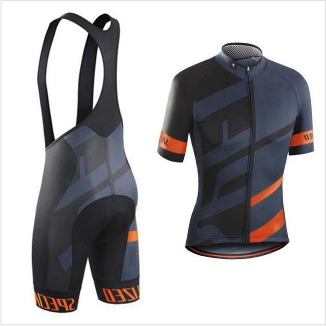 f51b8591a Gray 2019 Pro Team cycling Jersey for Men s bicycle Jersey Breathable short  sleeve and bib shorts cycling set Roupa ciclismo