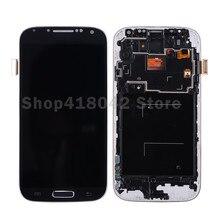 Para Samsung Galaxy S4 i9505 i9500 i337 Pantalla LCD con Pantalla Táctil Digitalizador Asamblea Con Marco Libre Del Envío