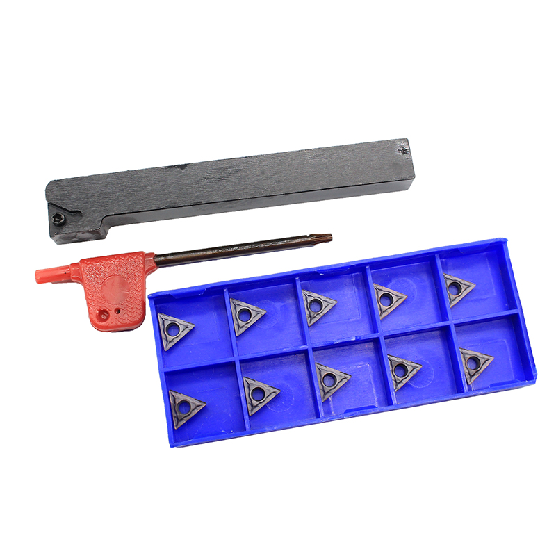 1PCS STFCR1212H11 + 10PCS TCMT110204 <font><b>HP1025</b></font> CNC Tool Carbide Insert Tool Holder Lathe Turning Blade image
