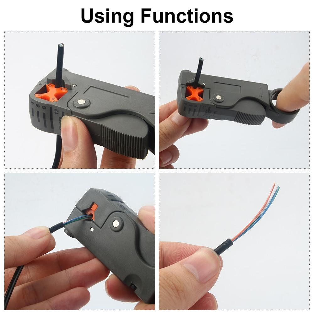 JelBo Automatische striptang Multifunctionele draadstripper Stripper - Handgereedschap - Foto 5