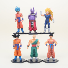 17styles Dragon Ball Z DBZ Kuririn Vegeta Trunks Freeze Son Goku SON Gohan Piccolo Freeza Beerus Action Figures Toys