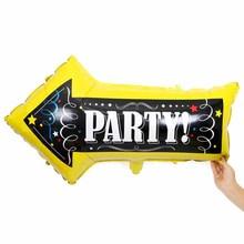 KAMMIZAD Party Balloons Arrows Aluminium Foil 20pcs/lot Birthday Decoration InFaltable Globos Accessory Supplies