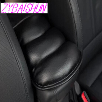 car armrest of soft leather center console box for BMW all series 1 2 3 4 5 6 7 X E F-series E46 E90 X1 X3 X4 X5 X6 F07 F09 F10 image