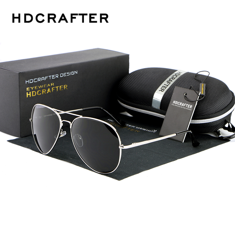 Brand Design Sunglasses Men Polarized UV400 Eyes Protect Coating Sun Glasses Google Pilot Wholesale