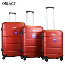 ORLACS Brand 202428 Rolling Luggage Suitcase Boarding Case Travel Luggage Case Spinner ABS Trolley Suitcase Wheeled Case fashion luggage inches girl trolley case pp students lovely travel waterproof luggage rolling suitcase extension boarding
