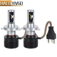 HoldCY H4 9003 HB2 Hi Lo Beam LED Car Headlight Bulb 60W 8400lm 6000K ZES Chip
