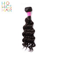 WoWigs Hair Deep Wave Indian Remy Hair 100% Human Hair Weaving 1/3/4 PCS Free Shipping Natural Color
